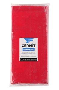 CERNIT Modelovací hmota 500 g - vánoční červená