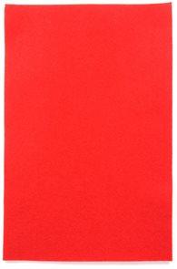 Filcový papír 150 g - barva červená