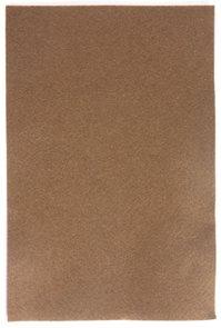 Filcový papír 150 g - barva hnědá