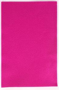 Dekorační filc 150 g/m2 - barva růžová