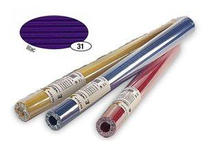 Vlnitý papír, role 50×70 cm - barva fialová