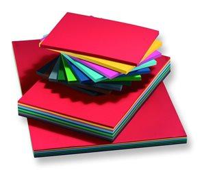 Barevné papíry A3 130 g - mix 10 barev 50 kusů