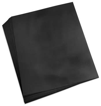 Barevné papíry A4 130 g - černá 100 kusů