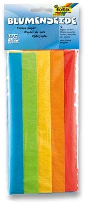 Hedvábný papír- mix barev