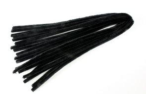 Modelovací drátky - průměr 8 mm, délka 50 cm, 10 ks - barva černá