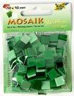 Mozaikové kamínky - tón v tónu mix - barva zelená