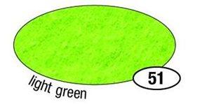 Filcový papír silný - barva zelená