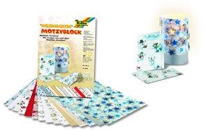 Set s dekorativními papíry s motivy Vánoce - 30 listů