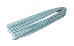Modelovací drátky - průměr 8 mm, délka 50 cm, 10 ks - barva světle modrá