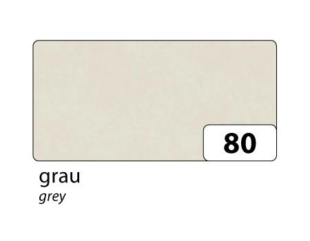 Hedvábný papír 50x70 cm, 20 g/m, složený na 25x35 cm, 5 listů, barva šedá