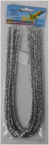 Modelovací drátky - stříbrné (10 ks,50 cm)