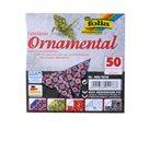 Origami papír Ornamental 80g/m2 - 15 x 15 cm, 50 archů