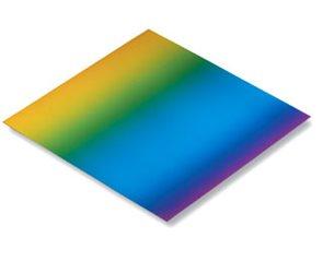 Origami papír duhový 100g/m2 - 10 x 10 cm, 100 archů