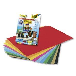 Barevný papír A4 130 g - 20 listů