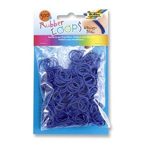 Gumičky 500 ks - královská modrá
