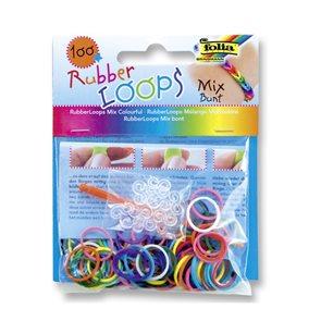 Gumičky 100 ks - mix barev