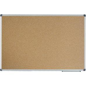 Korková tabule v hliníkovém rámu 90 ×120 cm