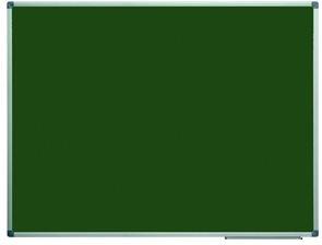 Tabule magnetická zelená 90x120 cm s keramickým povrchem, popisovatelná křídami