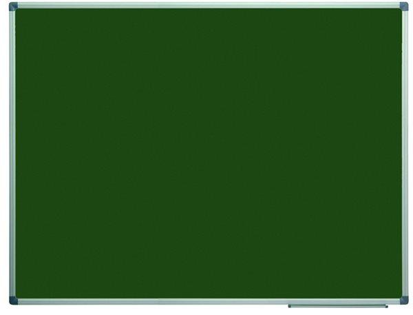 Tabule magnetická zelená 90x120 cm s keramickým povrchem, popisovatelná křídami, Doprava zdarma