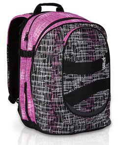 Studentský batoh HIT 148 H - Pink