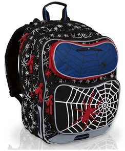Školní batoh CHI 601 A Black - Spider /Topgal/