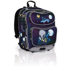 Školní batoh CHI 649 A - Black