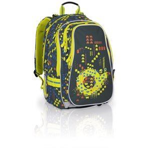 Školní batoh CHI 656 E - Green