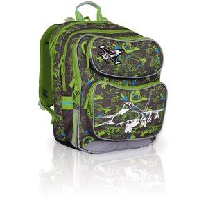 Školní batoh CHI 698 C- Grey