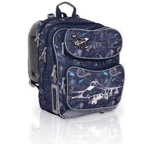 Školní batoh CHI 698D - Blue