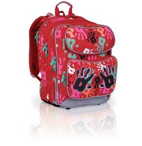 Školní batoh CHI 699G - Red