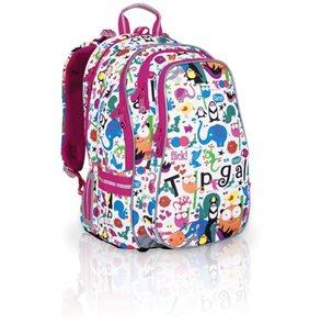 Školní batoh CHI 701 B -  White