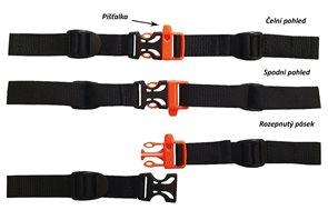 Univerzální hrudní pás - šedý