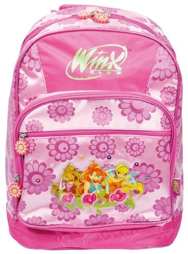 Školní batoh Winx - Pink Fairy, Sleva 40%
