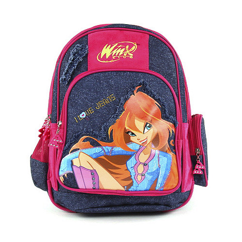 Školní batoh Winx - Jeans, Sleva 40%