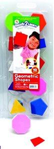 Velká razítka - Geometrické tvary (10 ks)