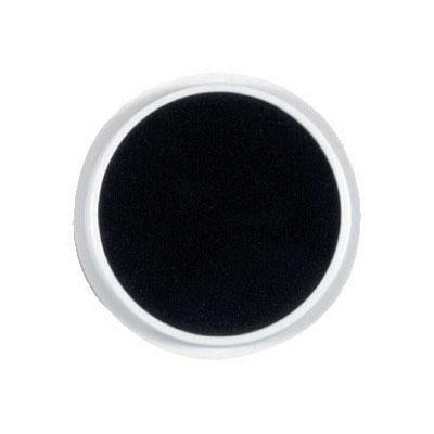 Kruhový polštářek - černá barva