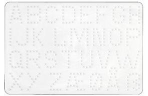 Podložky MIDI - abeceda, číslice