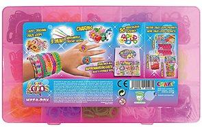Gumičky Loops Mega box - sada 12 barev ( 1600 ks )