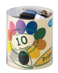 Malé barevné polštářky - Jaro