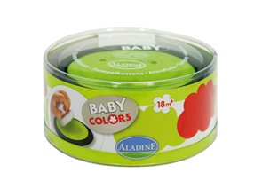 Polštářky k razítkům - barva červená + zelená