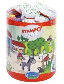 Razítka - Farma - box XL
