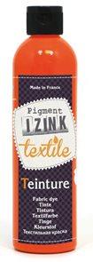 Barva na textil IZINK - tekutá- 250 ml - oranžová henna
