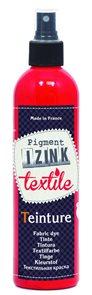 Barva na textil IZINK - tekutá- 180 ml s rozprašovačem - červená
