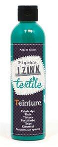 Barva na textil IZINK - tekutá- 250 ml - modrozelená