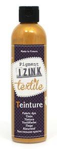 Barva na textil IZINK - tekutá- 100 ml - zlatá