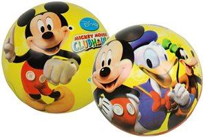 Míč - Mickeyho Klubík 23 cm, mix motivů