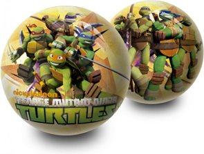Míč - Želvy Ninja 23 cm,  mix motivů
