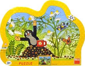 Puzzle Krtek s hrníčkem