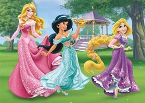 Puzzle Maxi Princezny