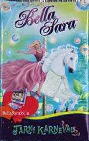 Bella Sara - Jarní karneval, karty